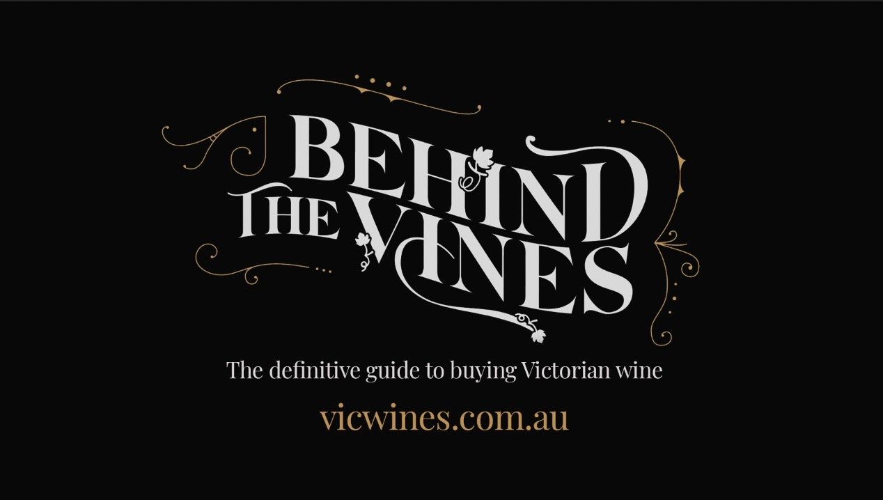 Behind the Vines Logo treatment